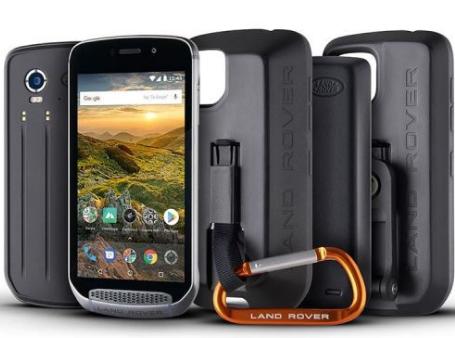 路虎探索户外智能手机非常适合最艰难的越野探险