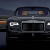 Rolls-Royce Wraith Luminary系列采用1,340光纤灯的星形顶灯