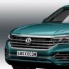 2019年大众途锐的渲染让它加入了时尚的SUV coupe潮流