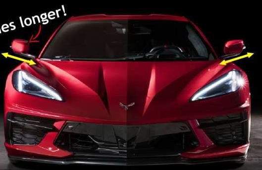 新款Corvette凭借其性能和运动外观以及充足的理由让世界惊艳不已