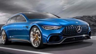 梅赛德斯 - 奔驰推出AMG GT概念车时 它获得了积极的评价