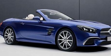 梅赛德斯 - 奔驰为下一季推出SL designo Edition和SLC RedArt Edition