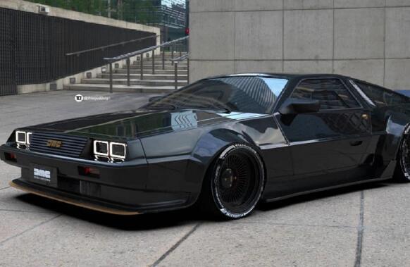 这种现代化的DeLorean现在将仍然是一个幻想