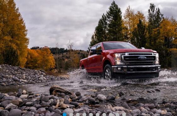 2020 Ford F-Series Super Duty具有牵引所有玩具的扭矩