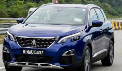 标致3008 SUV是2018年度马来西亚汽车