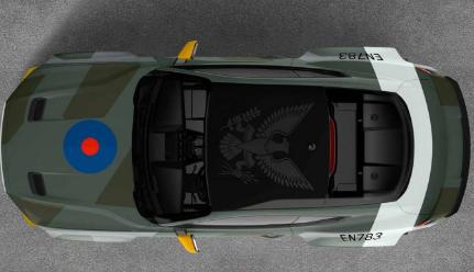 710匹马力的福特野马GT赛车在古德伍德亮相