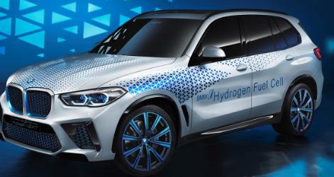 宝马 i Hydrogen NEXT在法兰克福车展上亮相