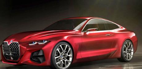 宝马 Concept 4在法兰克福车展上亮相