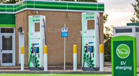 BP开始推出150kW电动汽车充电站