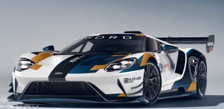 福特GT超级跑车赛道版获得700bhp的动力 并对底盘和底盘进行了调整