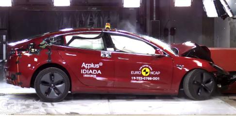 特斯拉Model 3 斯柯达Scala和梅赛德斯GLE和B级车获得欧洲NCAP 5星认证