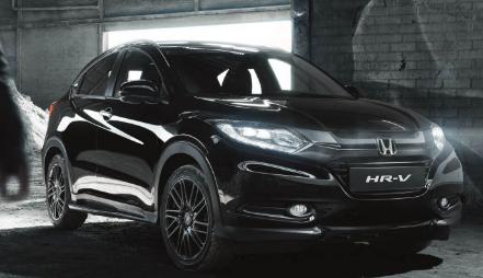 本田HR-V黑色版在英国首次亮相 完全采用隐形模式