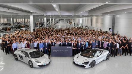 第一辆迈凯伦720S即将出厂 该公司将于2022年推出14款车型