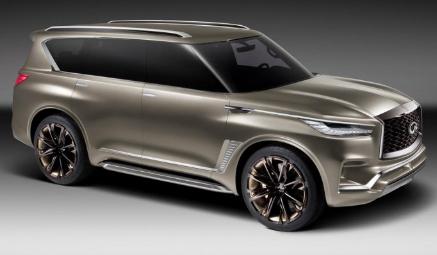 英菲尼迪QX80 Monograph全面亮相 这是针对即将推出的英菲尼迪SUV的设计研究