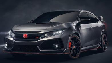 本田思域Type R量产车型在日内瓦首次亮相