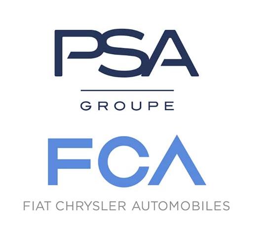 PSA集团与菲亚特克莱斯勒达成50/50合并交易 创建第四大汽车制造商