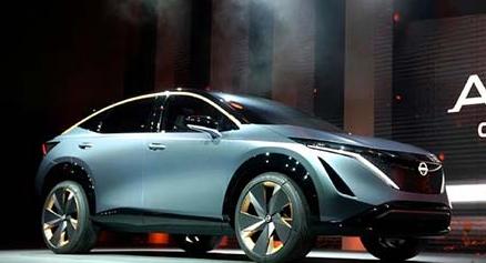 日产Ariya预览量产的电动跨界车