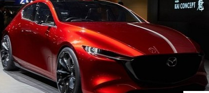 马自达Kai和Vision Coupe Concepts在东京展示碳纤维
