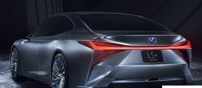 雷克萨斯LS +概念不是我们期望的双涡轮V8动力LS F