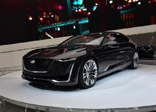凯迪拉克Escala Concept首次亮相4.2升双涡轮增压V8