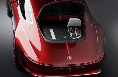 视觉梅赛德斯-迈巴赫6电动汽车概念不在这个世界上