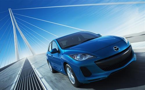 马自达本月在洛杉矶车展上首次亮相所有新Mazda3