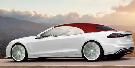 特斯拉Model S可转换和射击刹车由Ares Design计划