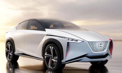 日产LEAF在东京推出电动iMX Concept SUV