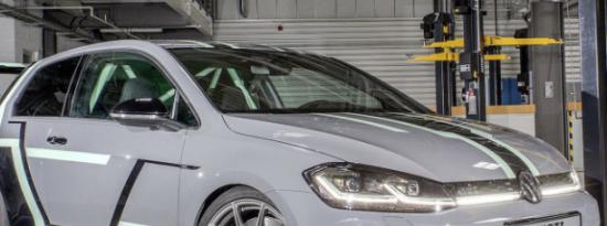 大众高尔夫GTI Aurora概念车具有全息控制的立体声