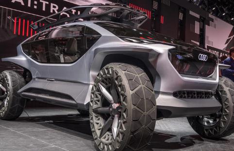 奥迪AI Trail概念预览了品牌未来的SUV风格