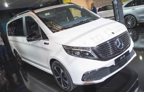梅赛德斯·奔驰EQV 电动MPV在法兰克福首次亮相