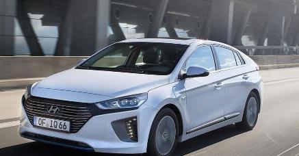 Hyundai Ioniq插电式混合动力英国的价格和规格公布