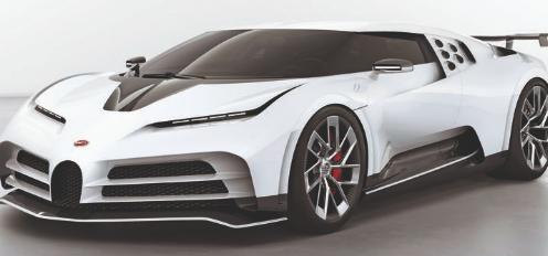 布加迪推出740万英镑限量版Centodieci超级跑车