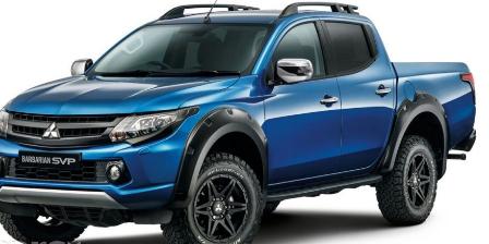 三菱L200野蛮人高级副总裁是三菱特殊车辆项目的首款产品