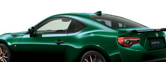 丰田86英国绿色限量版需要来到美国统计
