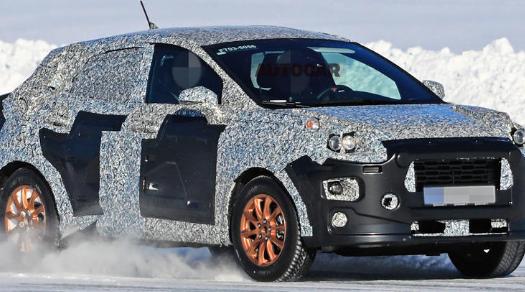 福特准备基于新嘉年华的小型SUV取代Ecosport