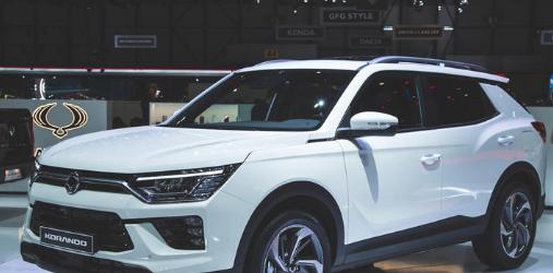 新款第四代双龙科朗多SUV在日内瓦车展上首次公开露面