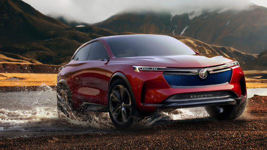 别克Enspire电动SUV概念车在中国问世