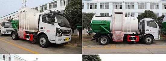 评测解放虎V国六蓝牌4.16米易燃气体厢式运输车及东风凯普特K7国六餐厨式垃圾车上装篇