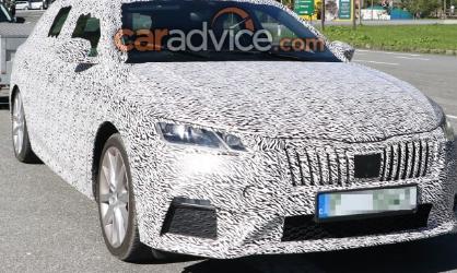 新型斯柯达RS旅行车已经在欧洲阿尔卑斯山进行了间谍测试