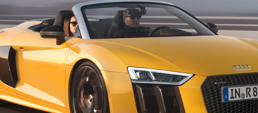 奥迪R8 Spyder V10离您的车库更近一步