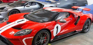 福特GT 如何制造蓝椭圆形竞赛获胜的超级跑车