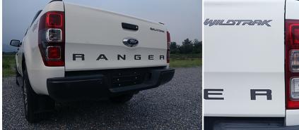 评测福特Ranger尾灯效果细节介绍及福特Ranger油箱多少升