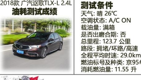 介绍下讴歌TLX-L真实油耗测试及讴歌TLX-L百公里加速时间