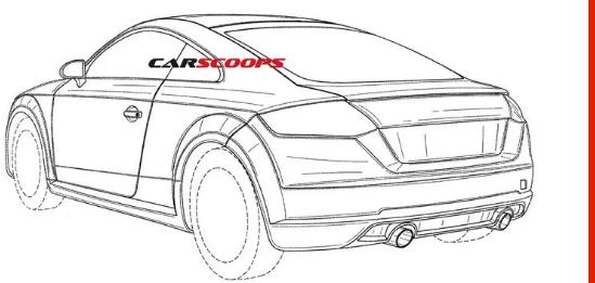 奥迪专利展示2020新款TT RS Performance Coupe