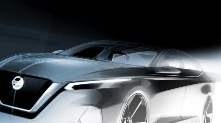 新日产Altima取笑日本品牌将在纽约展示时尚的新型轿车