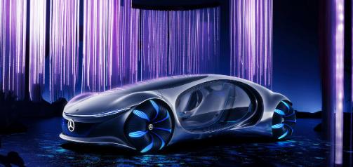 梅赛德斯奔驰在CES上展示了Vision AVTR概念车