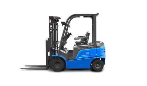 比亚迪纯电动叉车采用全球领先的铁电池技术