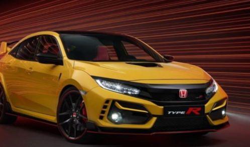 本田发布思域TypeR限量版超轻型汽车