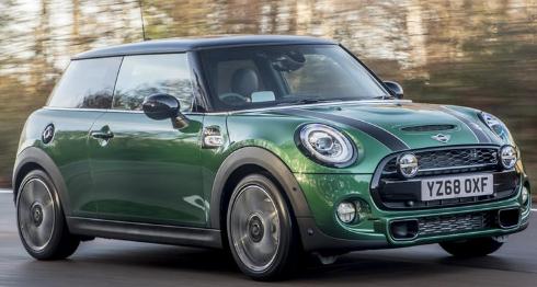 全新特别版Mini汽车庆祝60周年经典图标